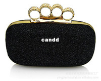 Yes bags knuckle - Women Clutch Knuckle Rings Evening handbags clutch Bags With Chains Valentine s Day evening bags AEB220