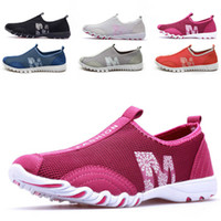 Wholesale 2014 summer lady s shoes breathable mesh shoes barefoot running shoes for men and women ultralight sneakers shoes couple leisure net