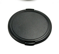 Wholesale mm Snap on Front Lens Cap Cover for Digital SLR Camera for canon nikon sony