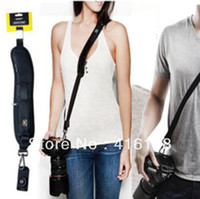 Wholesale Quick Rapid Camera Single Shoulder Sling Black Belt Strap for SLR DSLR