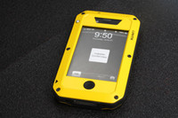 Wholesale Hot LUNATIK Taktik Extreme Protecting Crust Aerial Anodized Aluminum Metal Case for Apple Iphone s g P193