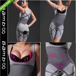 Wholesale Magic slimming underwear gen bamboo charcoal slimming suits Pants Bra Bodysuit Body Shaping clothing