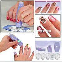 Nail Art Stamping Machine Nail Art Equipment  Salon Nail Art Express Decals Stamp Stamping Polish Design Kit Set Decoration[00040104 ]