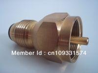 gas cylinder - Propane Refill Adapter Tank Coupler Gas Cylinder Bottle Heater Lp All Brass