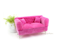 Wholesale Sofa Jewelry Box Ring Display Jewelry Display Stand Pink Necklace Display