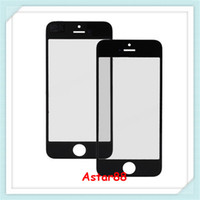 Wholesale High OEM Quality Front Glass Lens Cover for iphone G Gen iphone Repair Replacement Parts Black and White