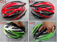 Wholesale freeshipping man woman g mtb road bicycle bike cycling helmet hole white red blue titanium ora