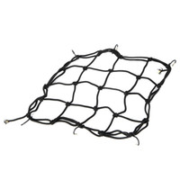 Wholesale Motorcycle Elastic Iron Mesh Helmet Cargo Net Luggage Black