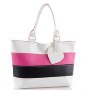 Wholesale HOT New popular Korea Fashion Style Women s Handbags fashion mixed colors pop hit color Lady Handbag Tote Bags
