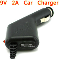 Wholesale 9V A x0 mm Car Charger Power Adaptor Car Charger V A output for Ainol Novo8 Superpad Cube U10GT Aoson M11 M19