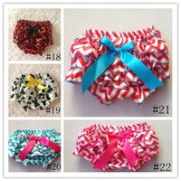 Wholesale camo print satin baby soft bloomer kid bloomer for m baby diaper cover