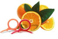 Plastic orange peel - 100PCS Orange Peeler Dexterous Orange Cutter Fruit Peeling open orange Kitchen Tools