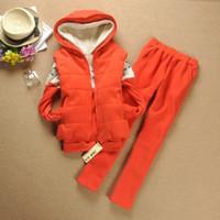 100% Linen Shorts Men jumpsuits 2012 Christmas Women Snowflake Hoodie+Vest+Long Pants Suit Thick Warm Casual Three Color Suit Good for Autumn and Winter