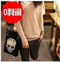 Cheap Hot Sale New Fashion women punk skull bag shoulder bag handbag pu leather designer bags