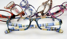 (50pcs lot)fashion colorful reading glasses variety colors strength power from +1.00 to +4.00 accept mixed order