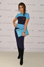 Wholesale 2013 fashion Beckham Knit dress elastic dresses women dress mermaid