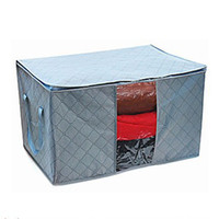 Wholesale 75L windows belt clothing storage boxes bags nonwoven fabrice UH133