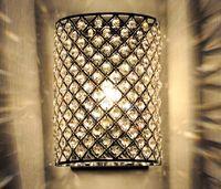 Art Deco art deco bracket - New Modern Crystal Wall Lamp Sconces Bracket light Wall fitting Lighting H280mm