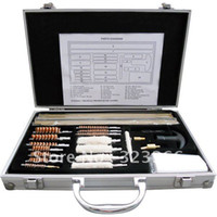 China (Mainland) aluminum rifle case - Brand New Gun Clean Kit Brush Set For Rifle Pistol With Aluminum Case