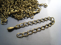 Copper antique copper findings - DIY Antique Bronze Adjustable Chain Closure Extender Finding
