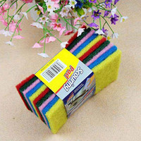 Wholesale Color Multifunction scouring wash cloth wipes clean cloth dishcloth rag cleaning cloth