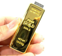 Wholesale Gold Bars USB Flash Drive GB GB GB GB GB GB GB