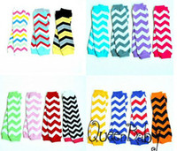 Wholesale Baby Chevron Leg Warmer Baby Leg Warmers infant colorful leg warmer child socks Legging Tights Leg Warmers pairs accept colors choose