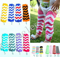 Wholesale Baby Chevron Leg Warmer Baby Leg Warmers infant colorful leg warmer child socks Legging Tights Leg Warmers pairs accept color choose