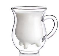 tea cups - New arrival Proper Blue eyes Promothion Creative milk bodum Coffee tea novelty cup Thermostability