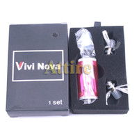 Wholesale EGO Vivi Nova E Cigs Atomizer EGO Kits Electronic Cigarette Clearomzier ego t ego w tank Clearomzier a set for all EGO Battery