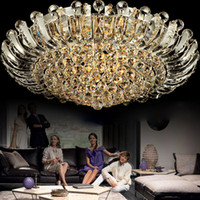 Wholesale Modern Lights Living Room K9 Crystal Ceiling Lamp LED Chandelier Fast Delivery Pendant Crystal Ball