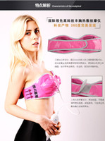 Wholesale Far infrared Breast Enhancer Bra Virbration Breast Enhancer Vibrating and Heating Breast Massager Only with V