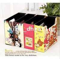 Wholesale FORREST flower styles magazine holder stationery organizer office organizer high quality