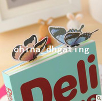 Wholesale FORREST stationery supplies butterfly d bookmark novelty bookmarks gift books high quality