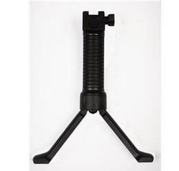 Retractable Bipod Grip Reinforced Black