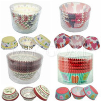 Wholesale 100X Cake Cupcake Liner Muffin Paper Case Chocolate Baking Bake Mold Wedding Cup