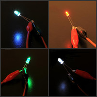 Red   5mm LED Lights 1.5V - 3V 20mA 10000-12000mcd Ultra Bright Light Emitting Diode