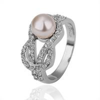 Wholesale best gift lady s lovely design full diamond k Gold Ring size hot Plating gold ring Rose Gold ring white gold rhinestone ring ZGR
