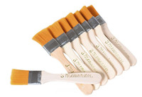 Wholesale Wood Nylon Painting Brushes Painting Tools Oil Paint Board Brush Cleaning Hair Brush