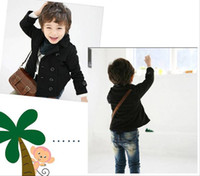 Wholesale Children winter coat outwear long sleeve boys jacket overcoat double breasted leisure kids Parkas coats winter baby clothes RT644