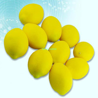 Wholesale EX0036 Large Lemons Decorative Plastic Artificial Fruit New