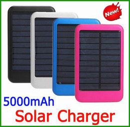 Wholesale portable Solar Panel mAh Portable Battery Backup Battery power bank Solar Battery Charger For Cell phone tablet PC