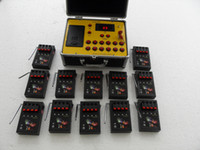 Wholesale New item districs cues Battery Remote range Firing System waterproof panel stage equiment