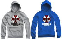 Spring / Autumn autumn corporation - For height cm Kids Resident Evil Biohazard Umbrella Corporation symbol printed Hoodies Pullovers for children Color