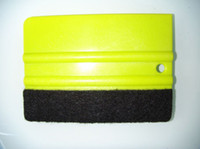 squeegees - Car vinyl Film wrapping tools Green color Scraper squeegee with felt edge size cm China Post Air Mail