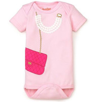 girls rompers - 2014 fashion baby bodysuits girls rompers pink one piece