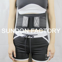 Wholesale Fedex freeLady Neoprene Back Lumbar Waist Support Belt Brace Strap Pain Relief Posture Trimmer Lower