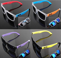 Wholesale 19 models SPY KEN BLOCK HELM Cycling Sports Sunglasses Outdoor Sun glasses New Black Skin Snake SPY OPTIC HELM Ken Block Sunglasses