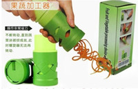 Wholesale Vegetable Fruit Processing Twister Cutter Slicer Device Kitchen Utensil Tool