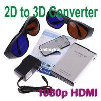 Wholesale Silver Black p HDMI D to D Converter Switcher HD Converter Signal Video Converter Box